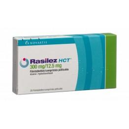 Расилез HCT (Rasilez HCT) 300 мг / 12.5 мг, 28 таблеток