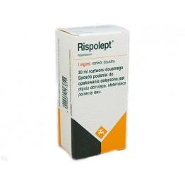 Рисполепт (Rispolept) р-р д/перер. прим. 1мг/мл 30 мл