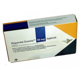 Рисполепт Конста (Rispolept Consta) инъекция 50 мг № 1