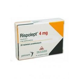 Рисполепт (Rispolept) 4 мг, 20 таблеток