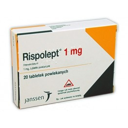 Рисполепт (Rispolept) 1 мг, 20 таблеток