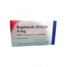 Ропинирол (Ropinirol) Stada 4 мг, 98 таблеток