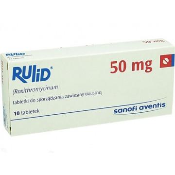 Рулид (Rulid) 50 мг, 10 таблеток