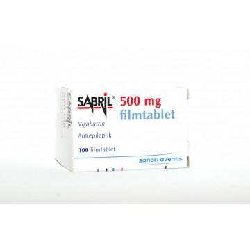 Сабрил (Sabril) 500 мг, 100 таблеток