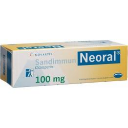 Сандиммун неорал (Sandimmun-neoral) 100 мг, 50 капсул