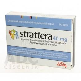 Страттера (Strattera) 40 мг, 7 капсул