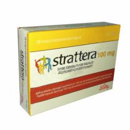 Страттера (Strattera) 100 мг, 28 капсул