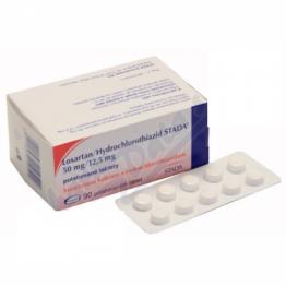 Лозартан/Гидрохлоротиазид STADA (Losartan/Hydrochlorothiazid STADA) 50 мг/12,5 мг (90 шт)