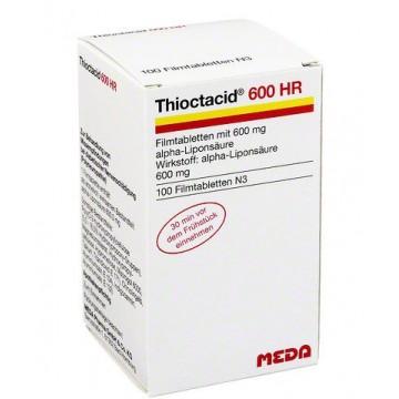 Тиоктацид (Thioctacid) 600 мг, 100 таблеток