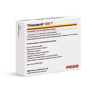 Тиоктацид (Thioctacid) 24 мл/600 мг, 5 ампул