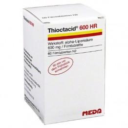 Тиоктацид (Thioctacid) 600 мг, 60 таблеток