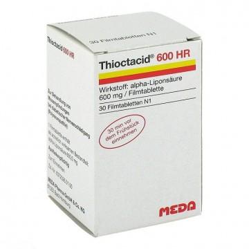 Тиоктацид (Thioctacid) 600 мг, 30 таблеток