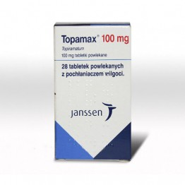 Топамакс (Topamax) 100 мг. 28 таблеток