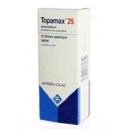 Топамакс 25 мг (Topamax), 60 таблеток
