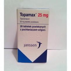 Топамакс (Topamax) 25 мг, 28 таблеток