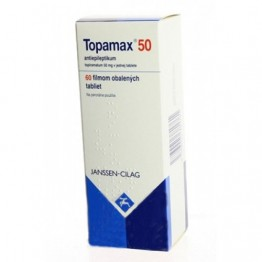 Топамакс 50 мг (Topamax), 60 таблеток