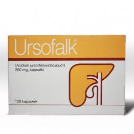 Урсофальк (Ursofalk) 250мг, 100 капсул