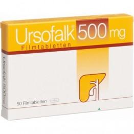 Урсофальк (Ursofalk) 500мг, 50 капсул
