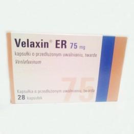 Велаксин 75 мг, 28 капсул пролонгированного действия