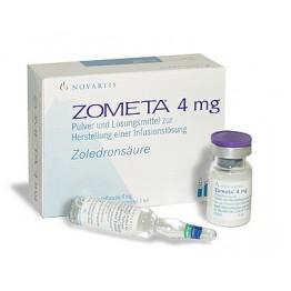 Зомета 4 мг/5 мл 1 флакон