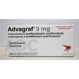 Адваграф 3 мг, 30 капсул