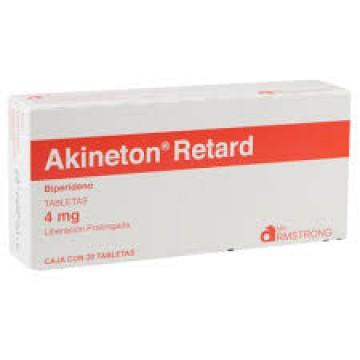 Акинетон SR 4 мг (30 шт)