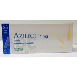 Азилект Тева 1мг, 28 таблеток