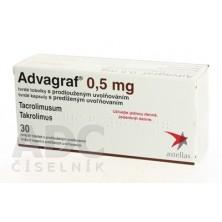 Адваграф 0.5 мг, 30 капсул