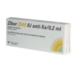 Цибор (Zibor) 2500 12500МЕ/1мл 0.2мл, №10