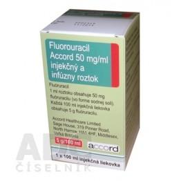 Фторурацил Аккорд (Fluorouracil Accord) 5000 мг фл. 100 мл № 1