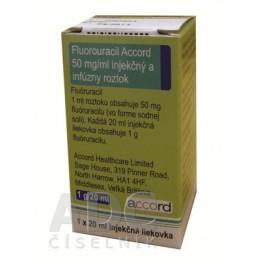 Фторурацил Аккорд (Fluorouracil Accord) 1000 мг фл. 20 мл № 1