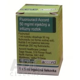 Фторурацил Аккорд (Fluorouracil Accord) 250 мг фл. 5 мл № 1