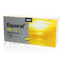 Экорал (Equoral) 50 мг, 50 капсул