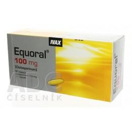 Экорал (Equoral) 100 мг, 50 капсул