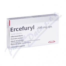 Эрсефурил (Erсefuryl) 200 мг, 14 капсул
