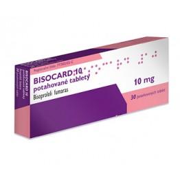 Бисокард 10 мг (30 шт)
