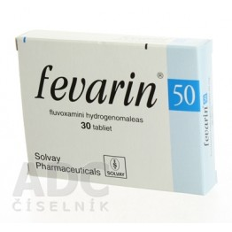 Феварин (Fevarin) 50 мг, 30 таблеток