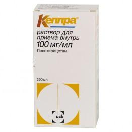 Кеппра 100 мг/мл фл 300 мл