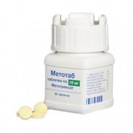 Метотаб 10 мг 100 шт