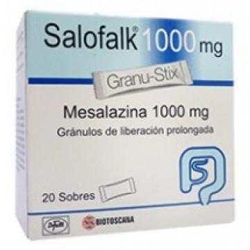 Салофальк (Salofalk) 1000 мг, 50 пакетиков