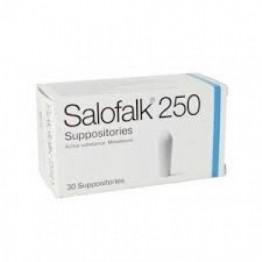 Салофальк (Salofalk) суппозитории 250 мг, 30 штук