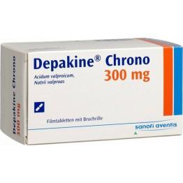 Депакин Хроно 300 мг (30 шт)