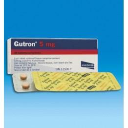 Гутрон 5 мг, 20 таблеток