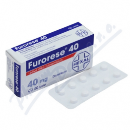 Фурорезе (Furorese) 40 мг, 200 таблеток
