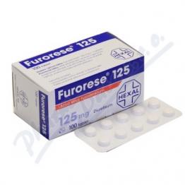 Фурорезе (Furorese) 125 мг, 100 таблеток
