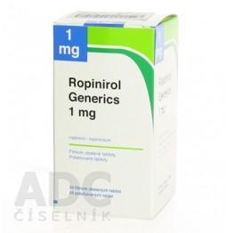 Ропинирол Mylan 1 мг, 84 таблетки