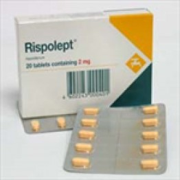 Рисполепт (Rispolept) 3 мг, 20 таблеток