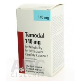 Темодал (Temodal) 140 мг, 5 капсул