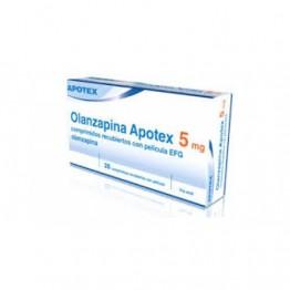 Оланзапин Апотекс 5 мг (28 шт)