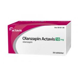 Оланзапин Актавис 10 мг (56 шт)